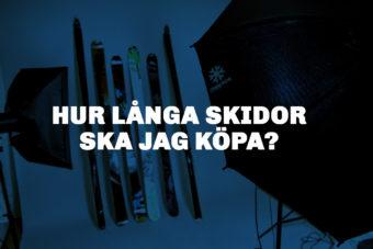 längd slalomskidor