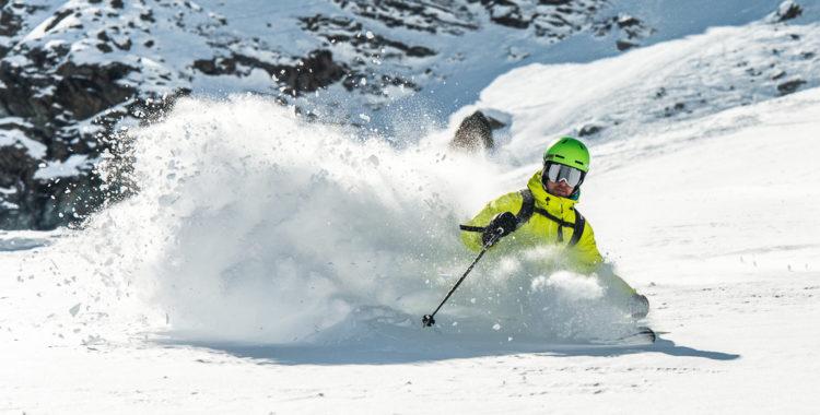 Monterosa består av de tre skidorterna Alagna, Gressoney och Champoluc.