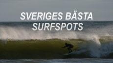 Sveriges bästa surfspots