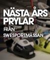 Nästa års prylar på Swesportmässan
