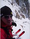Brant skidåkning
