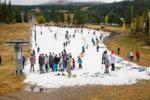 Smygpremiär i Trysil på förra vinterns snö