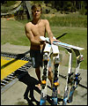 Jon Olssons vattenhopp i Australien