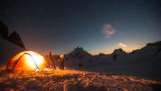 Några av världens bästa skidfotografer gör upp på Mont Blanc
