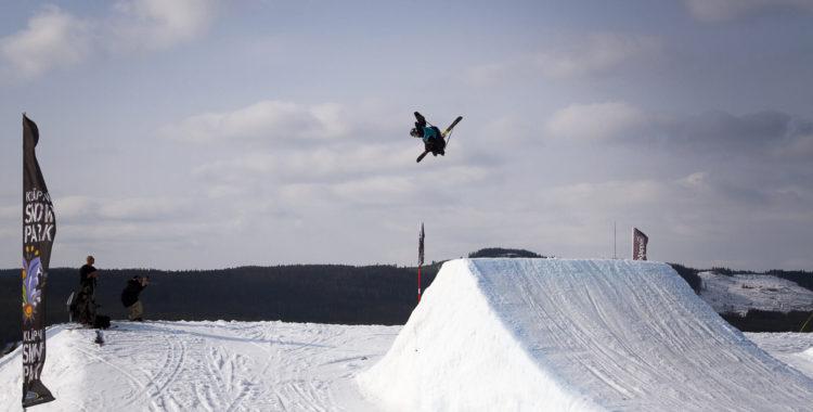 Cristopher Hjälmeby tog storslam i SM förra året och vann både slopestyle och big air.