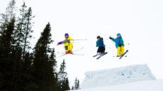 Freeridehelgen körs i Åre Snow Park