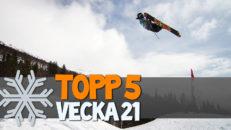 Topp 5: Vecka 21