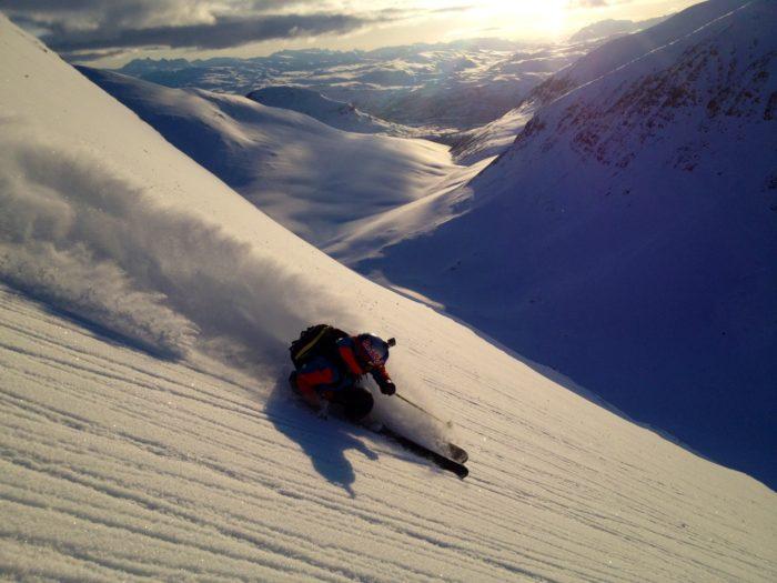 I mer än ett decennium har Windstedt livnärt sig på skidåkningen.