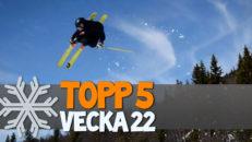 Topp 5: Vecka 22