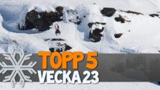 Topp 5: Vecka 23