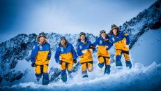 De utgör skicrosslandslaget 2014/15