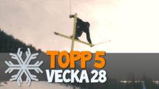 Topp 5: Vecka 28