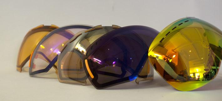 Linser för olika ljusförhållanden till din skidglasögon.