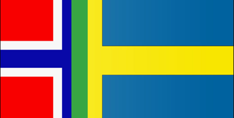 Svenska och norska landslaget slår sina påsar ihop