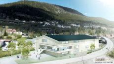 Europas största aktivitetshall i Åre