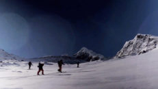 Likebomb skiing – Sarek