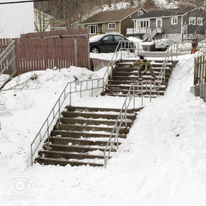 Kalle slaktar rails i Kanada