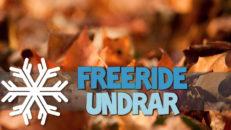 Freeride Undrar: Hur hanterar du höstångest och skidsug?