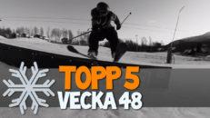 Topp 5: Vecka 48