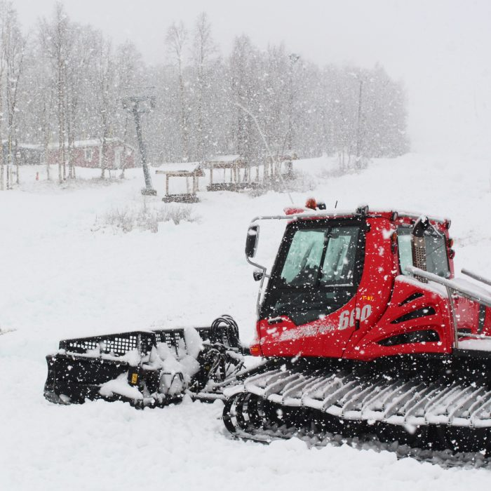 Vinter i västligaste Västerbotten.