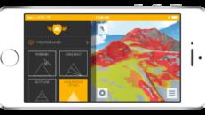 3D-kartor för offpist i mobilen