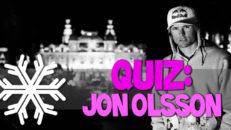 Quiz: Vecka 47 – Jon Olsson