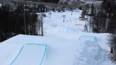 Nu öppnar snowparken i Hemavan