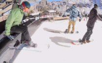 Den roterande snowboardbindningen