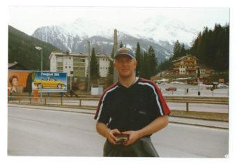 Anders i Bad Gastein för ett antal år sedan.