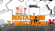 Rösta på din favorit i T-shirttävlingen