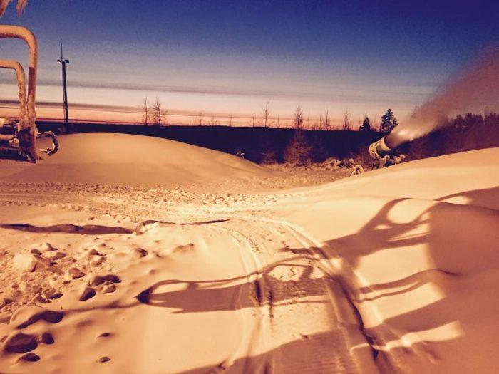 Idag öppnar Danmarks största skidanläggning ;)