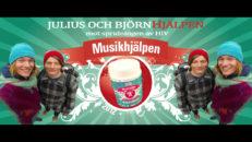 Julius och BjörnHjälpen – elektronisk sparbössa mot HIV