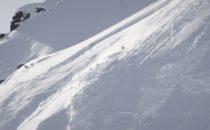 Gigi Rüf fastnar i en lavin i Alaska