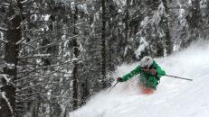 Freeride sökte mest snö i Europa, Borovets i Bulgarien blev målet