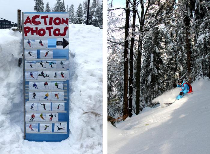 Glömt kameran hemma? Ingen fara, på Action Photos dokumenterar de dig. / Åkning i skogen mellan Popangelov och Yastrebetz 3.