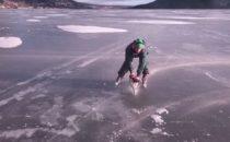 Erik Sunnerheim goes McGyver på isen