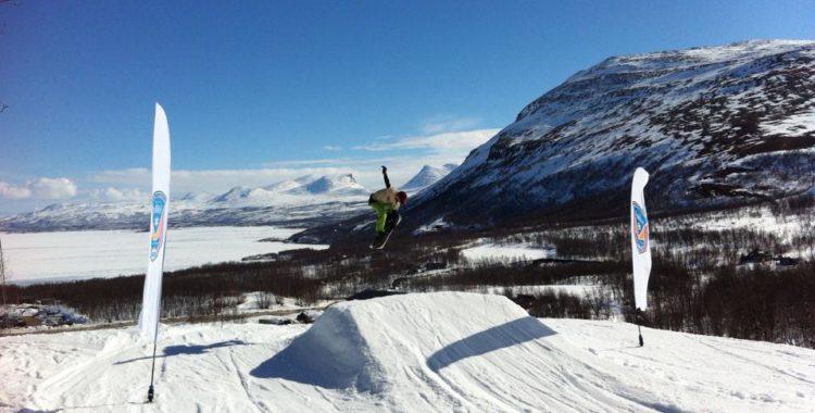 Snösäsongen är långt ifrån över än. Bildexempel från Björkliden.