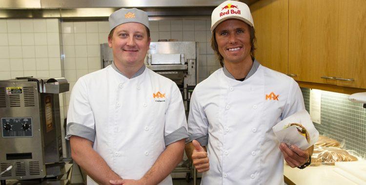 Jon Olsson har gjort en egen hamburgarr