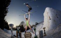 Franska längdskidåkare driver med Candide Thovex