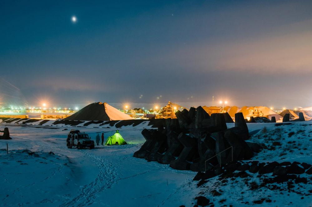 Campsite Island