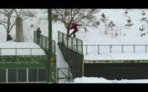 Japans hårdaste snowboardtrailer
