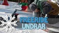 Freeride Undrar: Skidtestarhelger