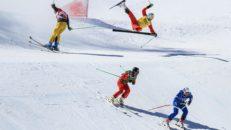 Världscuppremiär i Skicross