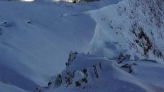 Stort dump på väg mot Chamonix