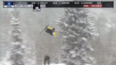 Harlaut tia i slopestylefinalen – Se alla åk
