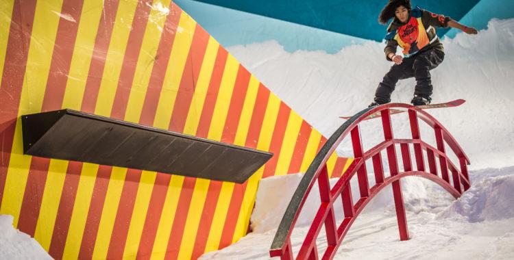 Yuki Kadono demonstrerar en backside boardslide
