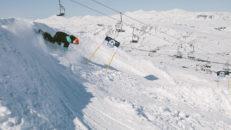 Banked Slalom i Riksgränsen öppnar portarna