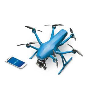 Quadcoptern Hexo+ som styrs från din smartphone