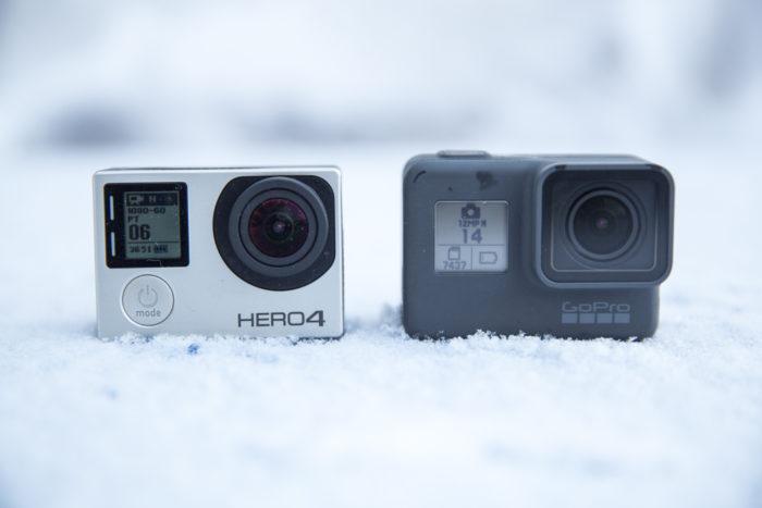Jämförelse - Hero4 och Hero5