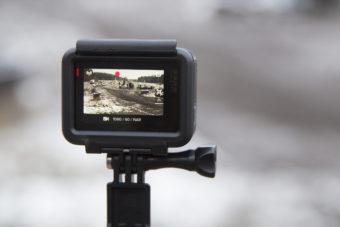 Kameran bakifrån